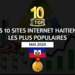 top 10 sites internet haitiens les plus populaires - Mai 2020