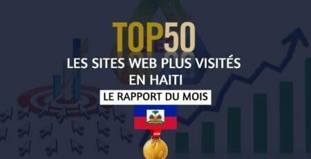 Top 50 Les Sites Web les plus visités en Haïti